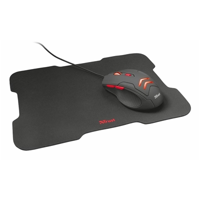 Εικόνα της Gaming Bundle Trust Ziva Mouse-MousePad 21963