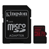 Εικόνα της Κάρτα Μνήμης microSDXC UHS-I U3 Kingston 32GB Canvas React SDCR/32GB