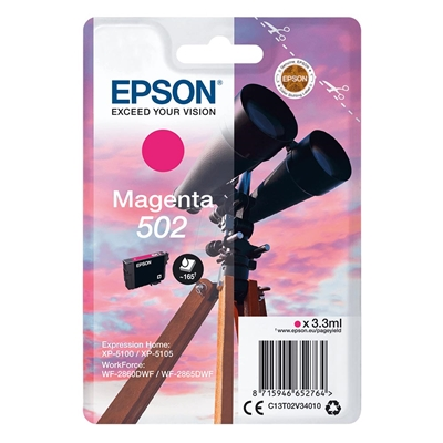 Εικόνα της Μελάνι Epson 502 Magenta C13T02V34010
