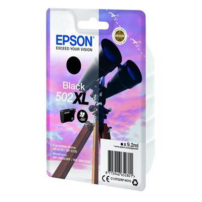 Εικόνα της Μελάνι Epson 502XL Black C13T02W14010