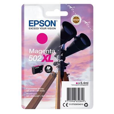 Εικόνα της Μελάνι Epson 502XL Magenta C13T02W34010