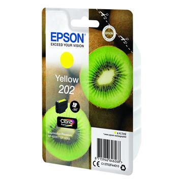 Εικόνα της Μελάνι Epson 202 Yellow C13T02F44010