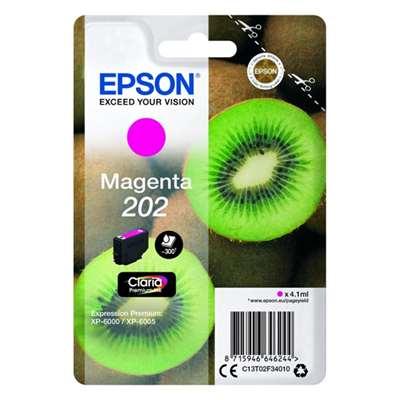 Εικόνα της Μελάνι Epson 202 Magenta C13T02F34010