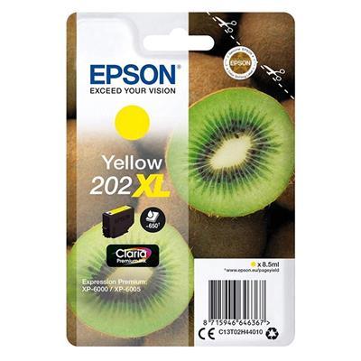 Εικόνα της Μελάνι Epson 202XL Yellow C13T02H44010
