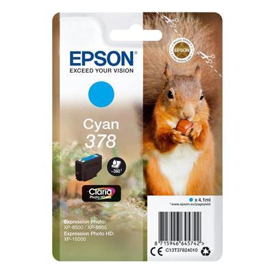Εικόνα της Μελάνι Epson 378 Cyan C13T37824010