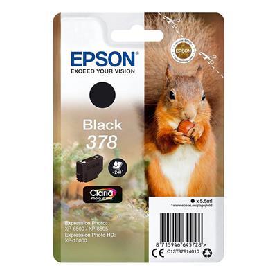 Εικόνα της Μελάνι Epson 378 Black C13T37814010