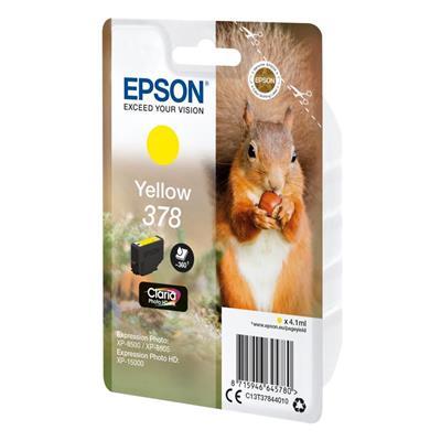 Εικόνα της Μελάνι Epson 378 Yellow C13T37844010