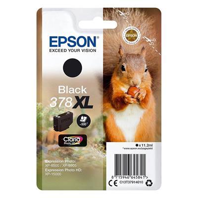 Εικόνα της Μελάνι Epson 378XL Black C13T37914010