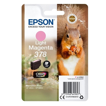 Εικόνα της Μελάνι Epson 378 Light Magenta C13T37864010
