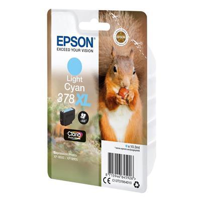 Εικόνα της Μελάνι Epson 378XL Light Cyan C13T37954010