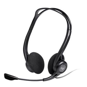 Εικόνα της Headset Logitech PC 960 Black 981-000100