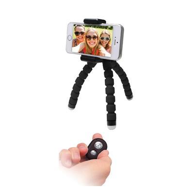 Εικόνα της MediaRange Universal Mini Tripod Flexible Aluminum Black MRMA205