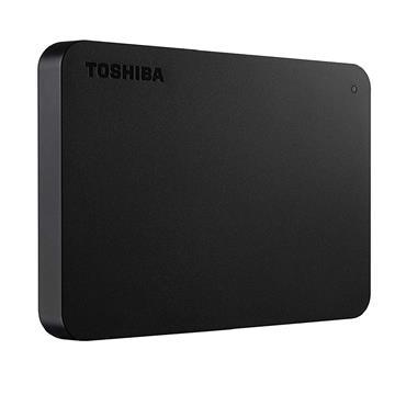 """Εικόνα της Εξωτερικός Σκληρός Δίσκος Toshiba Canvio Basics (2018) USB 3.0 2.5"""" 1TB Black HDTB410EK3AA"""