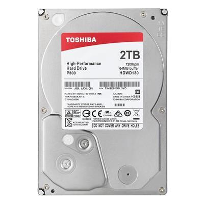 Εικόνα της Εσωτερικός Σκληρός Δίσκος Toshiba P300 High-Performance 3.5'' Sata III 2TB HDWD120UZSVA