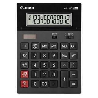 Εικόνα της Αριθμομηχανή 12 Ψηφίων Canon AS-2200 4584B001