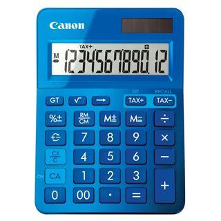 Εικόνα της Αριθμομηχανή 12 Ψηφίων Canon LS-123K Blue 9490B001