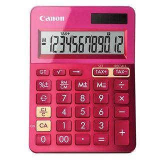 Εικόνα της Αριθμομηχανή 12 Ψηφίων Canon LS-123K Pink 9490B003
