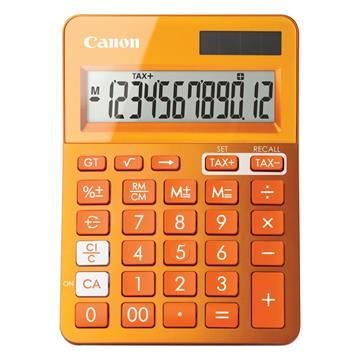 Εικόνα της Αριθμομηχανή 12 Ψηφίων Canon LS-123K Orange 9490B004