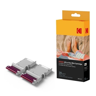 "Εικόνα της All-in-One Mini Cartridges Kodak για Photo Printer Mini 2 & Mini Shot 2.1 x 3.4"" 20 Φύλλα KODMC20"