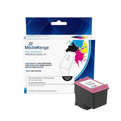 Εικόνα της Συμβατό Μελάνι Mediarange για Εκτυπωτές HP Colour No 901 CC656AE MRHP901CMY