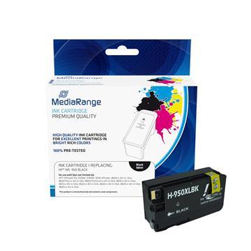 Εικόνα της Συμβατό Μελάνι Mediarange για Εκτυπωτές HP No 950XL Black CN045AE MRHP950BK