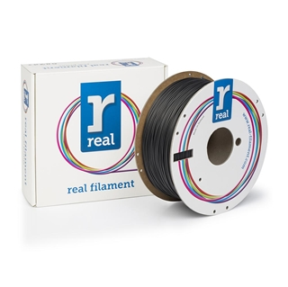 Εικόνα της Real Flex Filament 1.75mm Spool of 1Kg Black