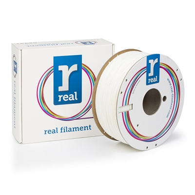 Εικόνα της Real ABS Filament 1.75mm Spool of 1Kg White
