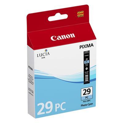 Εικόνα της Μελάνι Canon PGI-29PC Photo Cyan 4876B001