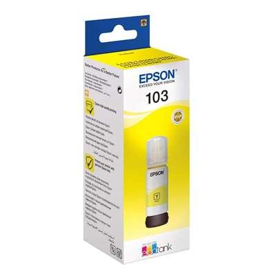 Εικόνα της Μελάνι Epson 103 Yellow C13T00S44A