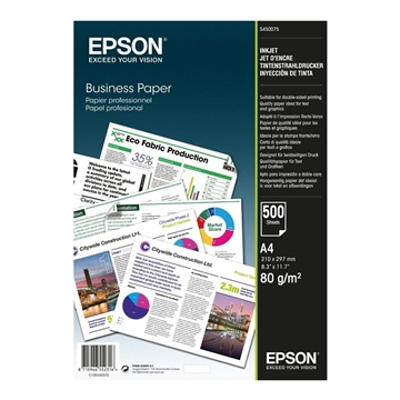 Εικόνα της Φωτογραφικό Χαρτί Epson Business A4 80g/m² 500 Φύλλα C13S450075