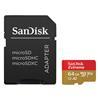Εικόνα της Κάρτα Μνήμης MicroSDXC V30 A2 Sandisk Extreme 64GB + SD Adapter 160MB/s SDSQXA2-064G-GN6MA