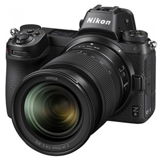 Εικόνα της Nikon Z 6 Mirrorless + Kit 24-70mm f/4S + FTZ Mount Adapter