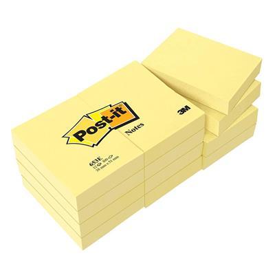Εικόνα της Αυτοκόλλητα Χαρτάκια 3M Tartan 38 x 51 mm 12 Τεμάχια MMM385112