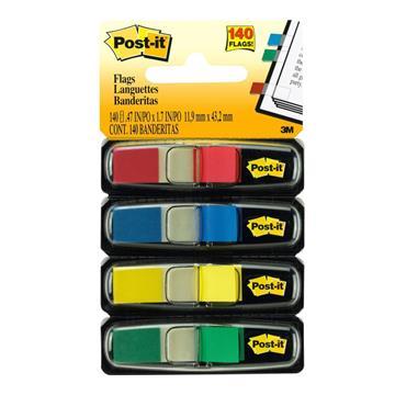 Εικόνα της Σελιδοδείκτες 3M Post-It Βελάκια 4 Χρώματα Φωσφοριζέ MMM101041
