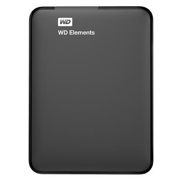 """Εικόνα της Εξωτερικός Σκληρός Δίσκος Western Digital Elements Portable 4TB USB 3.0 2.5"""" Black WDBU6Y0040BBK"""