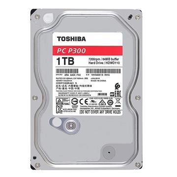 Εικόνα της Εσωτερικός Σκληρός Δίσκος Toshiba P300 High-Performance 3.5'' Sata III 1TB HDWD110UZSVA