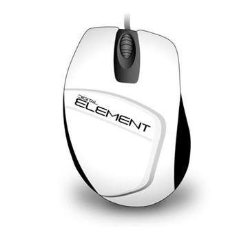 Εικόνα της Ποντίκι Element MS-30W White