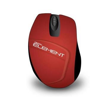 Εικόνα της Ποντίκι Element MS-165R Wireless Red