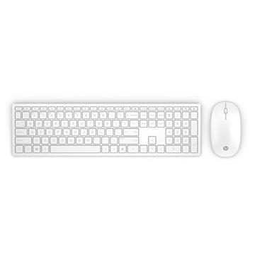 Εικόνα της Πληκτρολόγιο-Ποντίκι HP Pavilion Wireless 800 White 4CF00AA