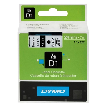 Εικόνα της Ετικέτες Dymo D1 Standard 24mm x 7m Black On White 53713 S0720930