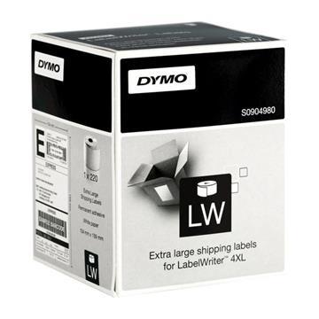 Εικόνα της Ετικέτες Dymo Shipping Labels Extra Large 4XL 104 x 159mm S0904980