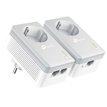 Εικόνα της Powerline Tp-Link PA4022P AV600 v3 Passthrough Starter Kit