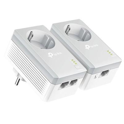 Εικόνα της Powerline Tp-Link PA4022P AV600 v3 Passthrough Starter Kit
