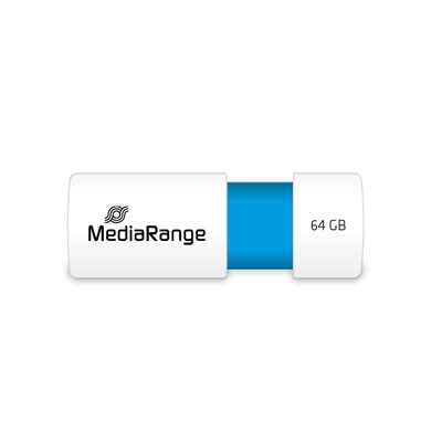 Εικόνα της MediaRange USB 2.0 Flash Drive 64GB Light Blue MR974