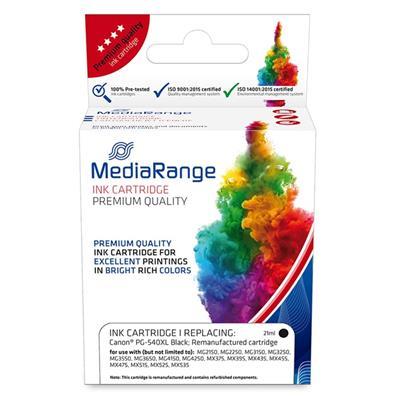 Εικόνα της Συμβατό Μελάνι Mediarange για Εκτυπωτές Canon PG-540XL Black MRCP540BKXL