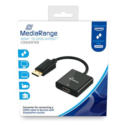 Εικόνα της MediaRange Converter HDMI to DisplayPort Gold-Plated MRCS175