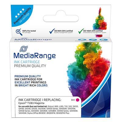 Εικόνα της Συμβατό Μελάνι Mediarange για Εκτυπωτές Epson T1283 Magenta MRET128M