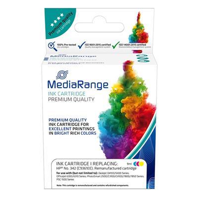 Εικόνα της Συμβατό Μελάνι Mediarange για Εκτυπωτές HP No 342 Colour C9361EE MRHP342CMY