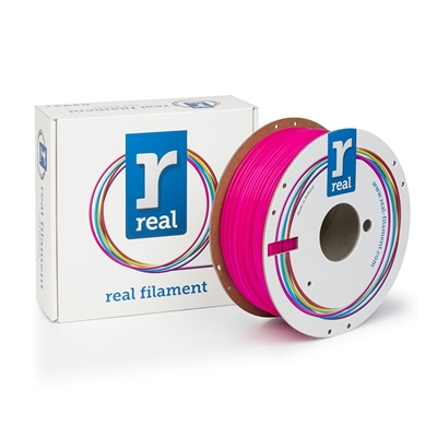 Εικόνα της Real PLA Filament 2.85mm Spool of 1Kg Fluorescent Pink