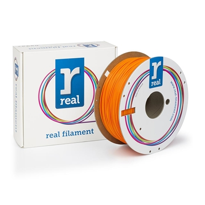Εικόνα της Real PLA Filament 1.75mm Spool of 1Kg Orange